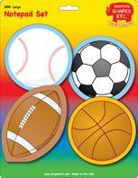 Large Sports Notepad (SE-7946)