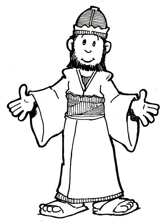 Download Or Print This Amazing Coloring Page King Solomon