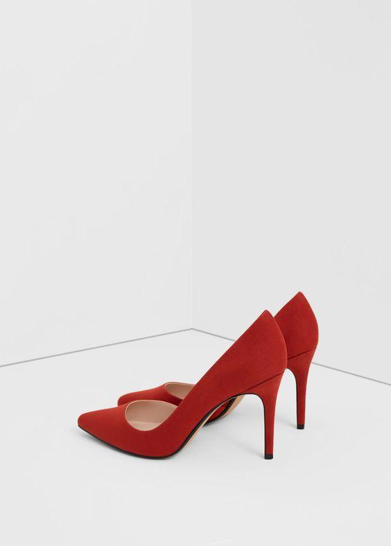 Sapato salto-agulha | MANGO