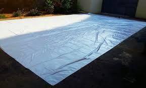 ENCERADO lienzo preparado con materia bituminosa para hacerlo impermeable