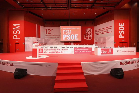 Centro de Congresos Principe Felipe - Príncipe Felipe Congress Center - PSOE MADRID PSM