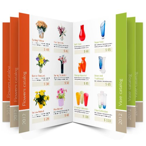 product catalogue template free