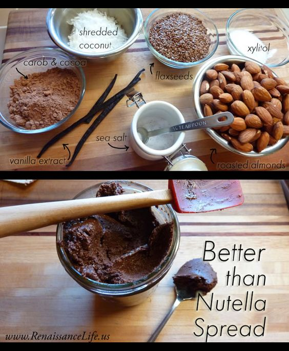 Better than Nutella Spread (refined sugar-free, hi-protein, & packed with omega 3′s)