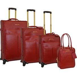 Leather luggage, Luggage sets and In style on Pinterest