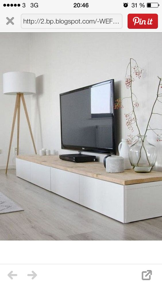 Tv Bänk Trend Pinterest Lamps, Tvs And Credenzas