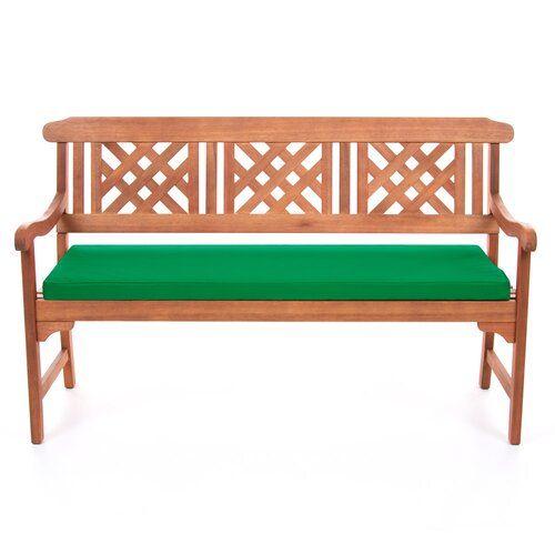 Garden Bench Cushion Symple Stuff Colour Green Size H 5cm X W