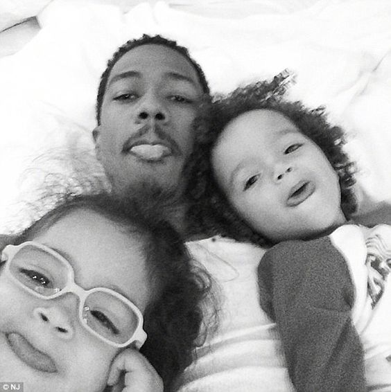 His little ones! Cannon is moving forward with his single life, moving into a luxury estate in New Jersey where 'dem babies' Monroe and Moroccon can grow up in privacy