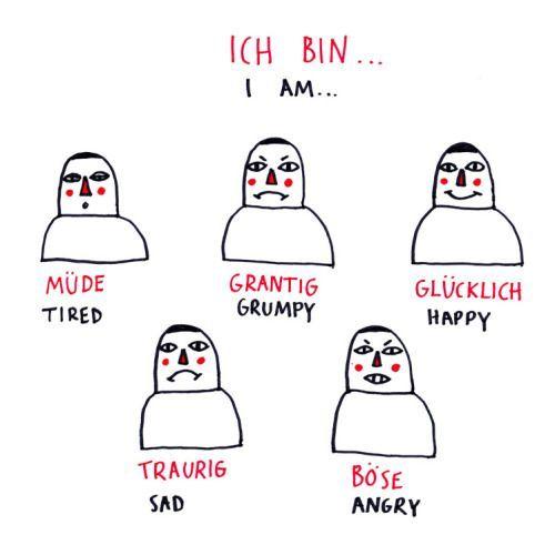 German Feelings clip art Part 1