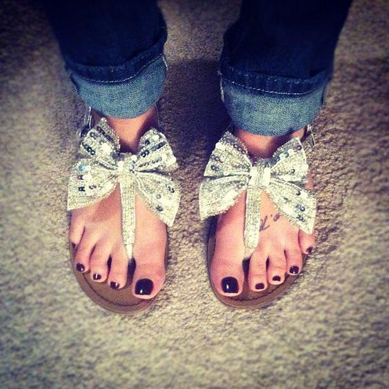 Gorgeous Sandles. (Kail Lowry)