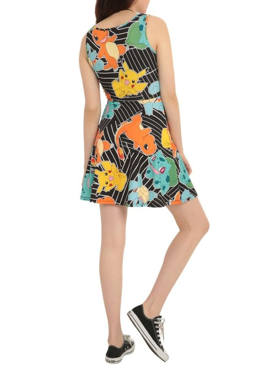 This Pokémon Dress Will Help You Catch All The Starters: