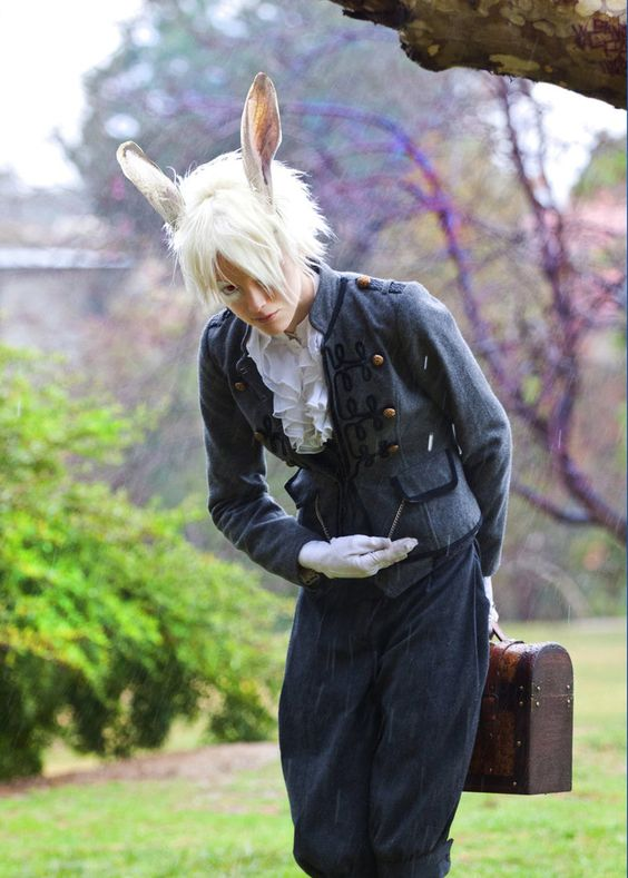 White Rabbit (Alice in Wonderland) | Cosplay | Pinterest ...