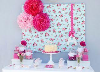 Resultado de imagem para decoração para festa feminina