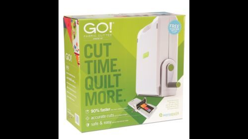 Accuquilt GO! Fabric Cutter Cutting SystemDie Mat NEW Smoother Rolling Action https://t.co/XjXOivkaCD https://t.co/JGF36IdH8j