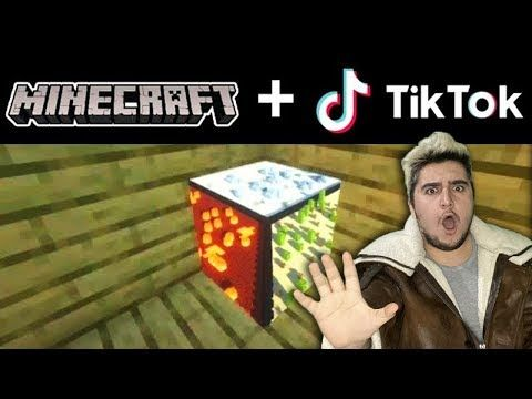 Minecraft Tik Tok Videolari Coook Iyi Youtube Minecraft Rubiks Cube Thankful