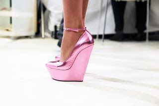 EU BONITA: Sapatos Rosa / Pink Shoes !!