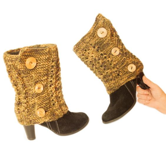 Hey, I found this really awesome Etsy listing at https://www.etsy.com/listing/211377603/cuffs-for-boots-warm-feet-leggings-with: