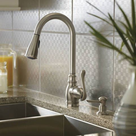 Moen Anabelle Spot Resist Stainless 1 Handle Pull Down Kitchen Faucet Lowes Com Kitchen Faucets Pull Down Kitchen Faucet Pull Out Kitchen Faucet