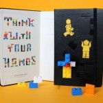 Should have this on my shelf this year.     LEGO x Moleskine Notebooks