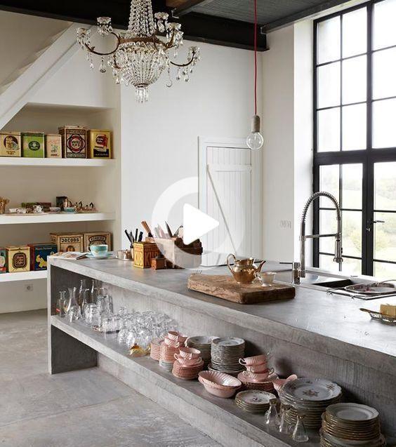45++ Cuisine sol beton cire inspirations