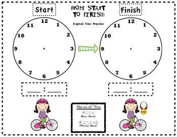 Pre School Worksheets : math worksheets 4th grade elapsed time ...