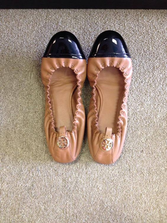 Love these flats by Tory Burch
