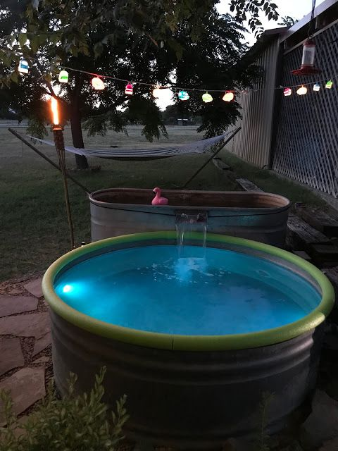 How To Install A Stock Tank Pool With A Waterfall Stock Tank