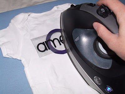 How to iron on vinyl