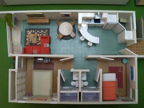 Dise o de interiores que es yahoo for Maquetas de apartamentos modernos
