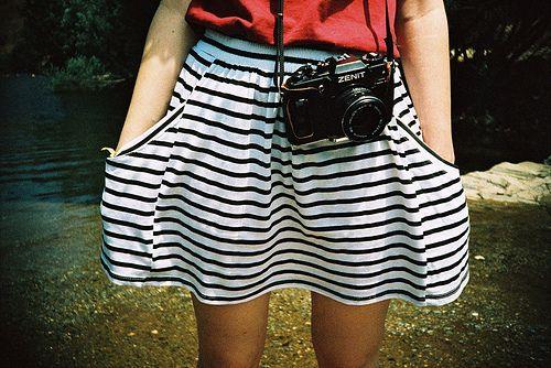 brunette, camera, cute, fashion, girl