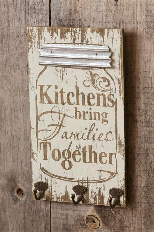 Country Kitchen Decor Farmhouse Kitchen Signs Mason Jar Kitchen