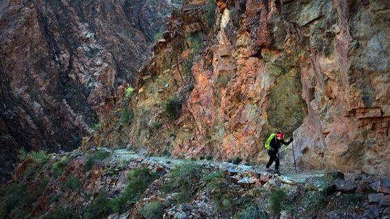 Grand Canyon, Rim-to-Rim, Arizona (23.9 miless):50 Best Hikes - MensJournal.com