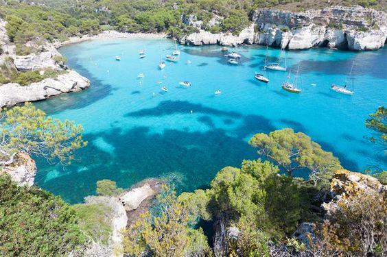 Cala Macarella - Cala Macarelleta - Minorque (îles Baléares - Espagne)