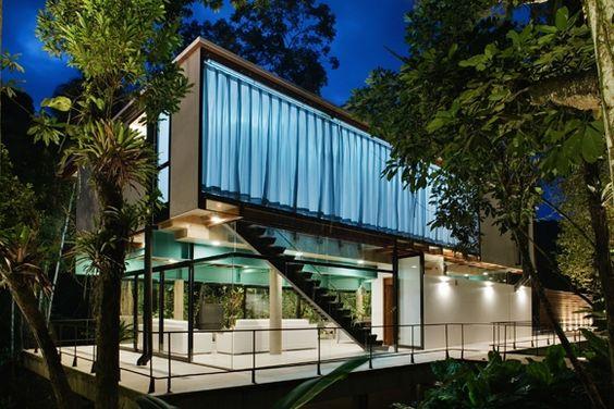 Residência em Iporanga / Arquiteto: Nitsche Arquitetos Associados