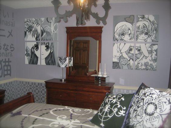 Delightful Anime Room   MAKE IT MINE!!!!!!!!!!!!!!!!!!!!!!!!!!!!!!!!!!!!!!!   Much  Otaku   Pinterest   Anime, Room And Bedrooms