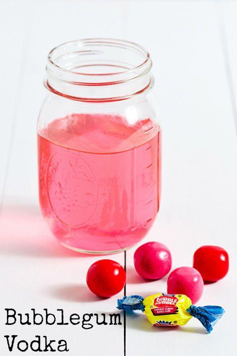 Bubblegum Vodka #cocktails #infusedliquor