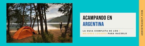 Camping in Argentina