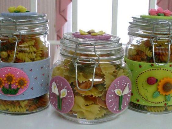 3 ideas para reciclar frascos de vidrio frascos de for Envases de vidrio decorados