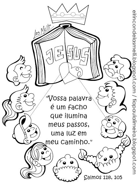 Tia Paula Para Colorir Licoes Biblicas Para Criancas