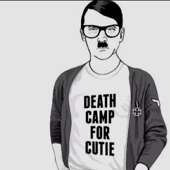 hipster hitler visits the - photo #43