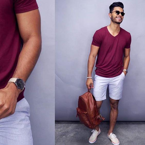 Men casual outfits – men style – street style for men – summer styles for men – summer outfits for men - Casual Men Outfits تنسيقات ملابس كاجوال رجالي -
