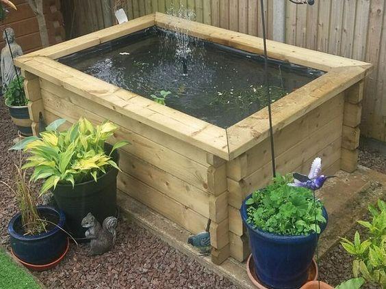 Https Www Quickcrop Co Uk Product Standard Raised Garden Pond Quick Picker Raisedpond Fishpond Koi Goldfi Patio Pond Raised Pond Ponds For Small Gardens