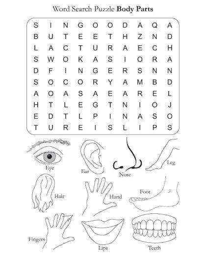 head shoulders knees and toes lyrics worksheet - Buscar con Google ...