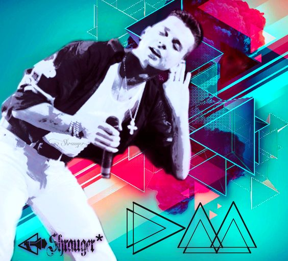 Dave Gahan - Depeche Mode by Shrauger  www.etsy.com/shop/Lavysh