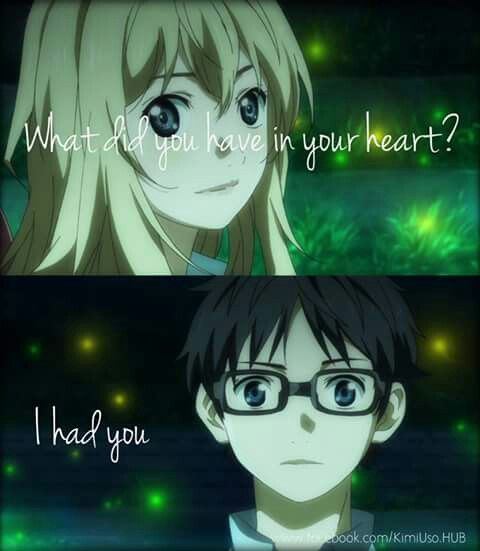 Your lie in April♥