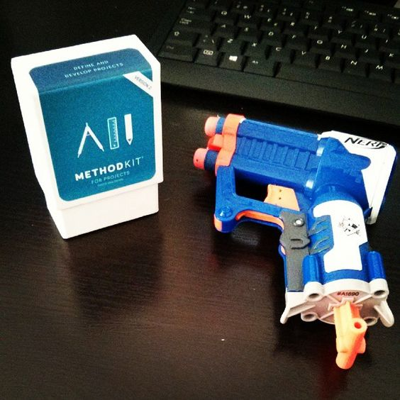 "Ready to ""Nerf"" some projects #methodkit #nerf http://instagram.com/p/dmHW-StlIv/"