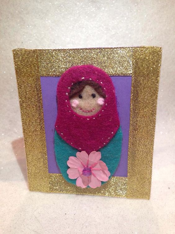 Small Russian doll cards £2.50