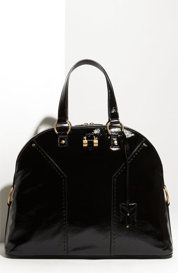 Yves Saint Laurent 'Muse' Oversized Dome Satchel