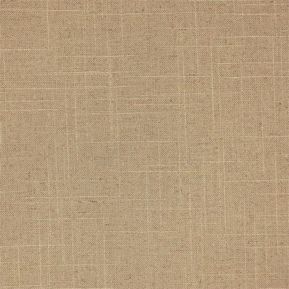 Natural Linen Swatch for custom window treatments: draperies, roman shades, side curtain panels and top treatment