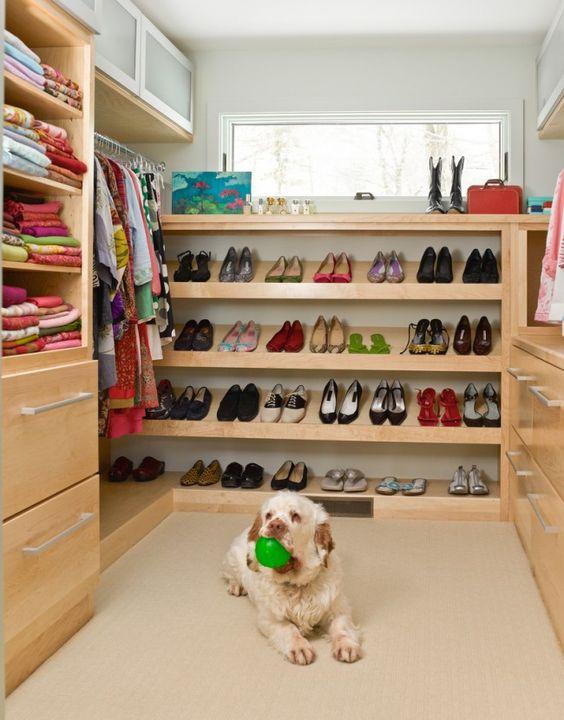 A look into Annie Selke's own custom closet!