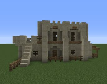 Small Arabian Desert House - GrabCraft - Your number one source for MineCraft buildings, blueprints, tips, ideas, floorplans!